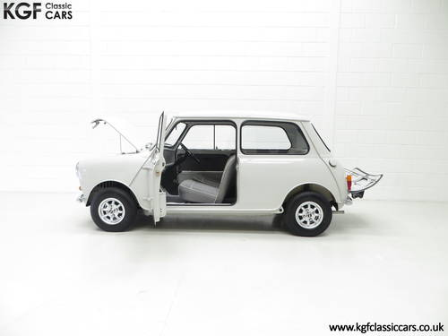 A 1959 Austin Seven Basic Mini Saloon in Show Condition. SOLD (picture 3 of 6)