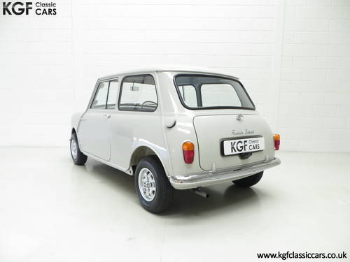 A 1959 Austin Seven Basic Mini Saloon in Show Condition. SOLD (picture 4 of 6)