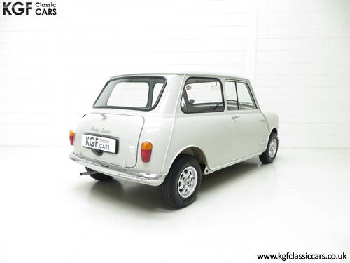 A 1959 Austin Seven Basic Mini Saloon in Show Condition. SOLD (picture 5 of 6)