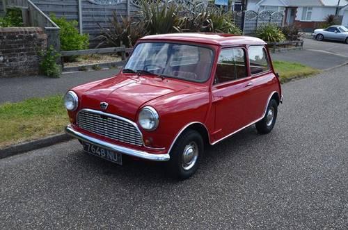 Lot 19 A 1964 Austin Mini 850cc 160717 Sold By Auction Car