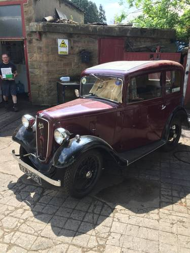 1935 Austin Seven Ruby mk1 SOLD (picture 1 of 6)