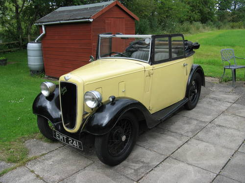 1936 Austin 7 Opal Tourer SOLD (picture 1 of 6)