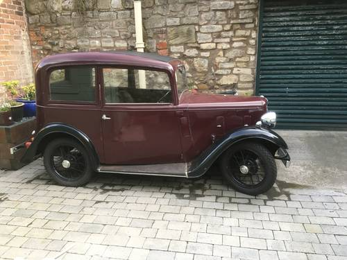1935 Austin Seven Ruby mk1 SOLD (picture 5 of 6)