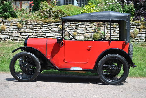 1927 Austin 7 Chummy in beautiful condition For Sale (picture 1 of 6)