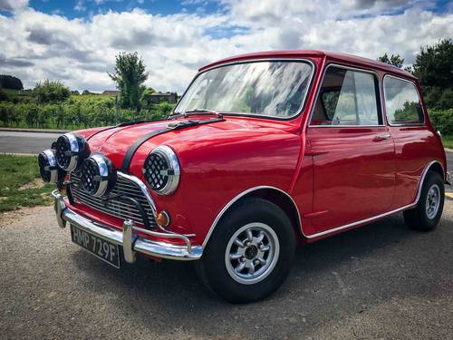 Mk1 Mini Cooper S Italian Job Replica 1967 Sold Car And Classic