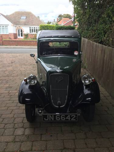 1935 Austin Seven  Coupe/Pickup SOLD (picture 2 of 6)