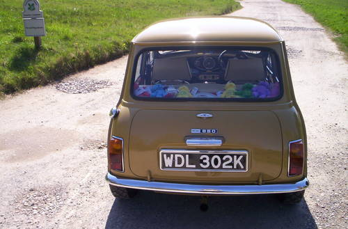 1972 classic mini harvest gold For Sale (picture 3 of 6)