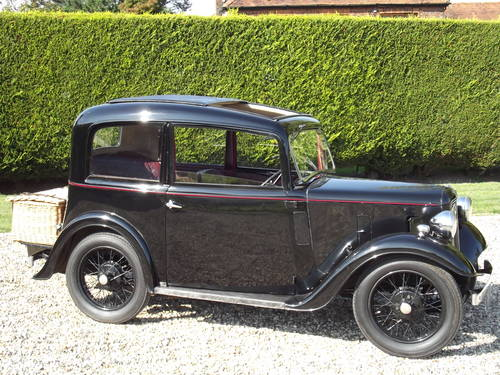 Austin 7 Ruby Saloon 1936 SOLD (picture 1 of 6)