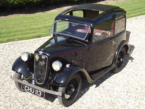 Austin 7 Ruby Saloon 1936 SOLD (picture 5 of 6)