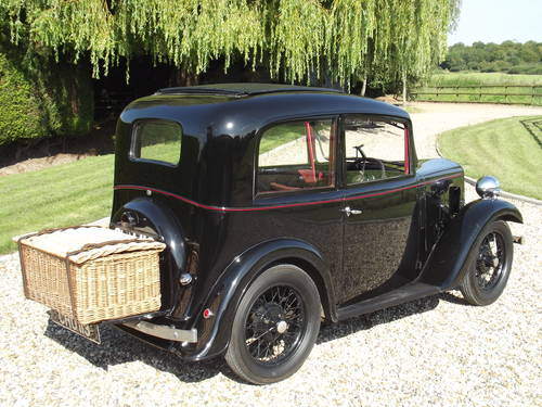 Austin 7 Ruby Saloon 1936 SOLD (picture 6 of 6)