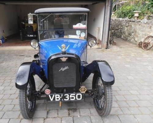 1927 AUSTIN Rtype TOP- HAT SALOON SOLD (picture 3 of 6)