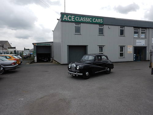 1953 AUSTIN A40 Somerset Saloon SOLD (picture 6 of 6)
