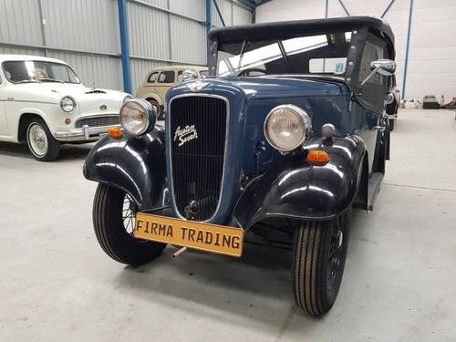 1935 Austin 7 Ruby Roadster for sale by Firma Classic Cars For Sale (picture 1 of 6)