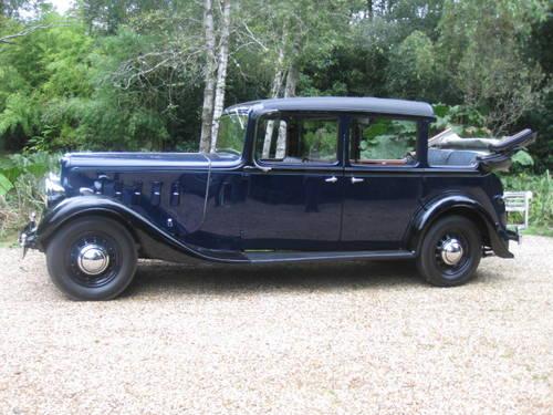 1938 Austin Six 20hp Mayfair Landaulette SOLD (picture 1 of 6)