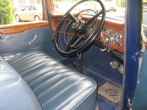 1938 Austin Six 20hp Mayfair Landaulette SOLD (picture 3 of 6)