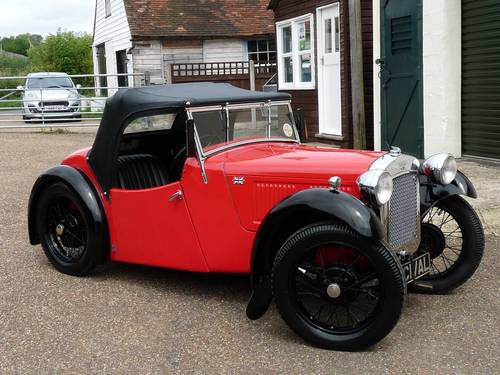1936 Austin 7 Nippy SOLD (picture 6 of 6)
