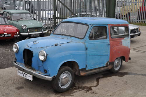 1956 AUSTIN A30 SEVEN VAN NOT A35 GREAT PROJECT SOLD (picture 1 of 6)