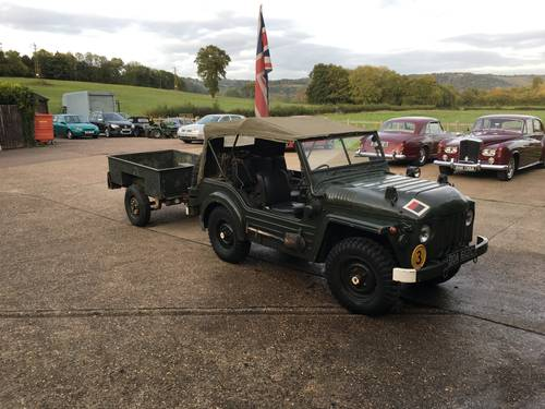 Austin Champ 1965 with trailer SOLD (picture 4 of 6)