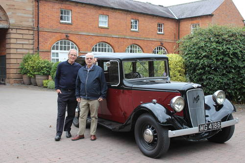 1936 Austin 16/6 Hertford For Sale (picture 1 of 3)
