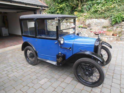 1927 AUSTIN Rtype TOP- HAT SALOON SOLD (picture 1 of 6)