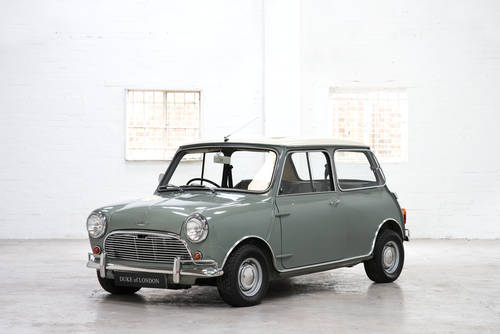 1966 Mk1 Austin Mini Cooper 998 Tweed Grey Restored Sold Car And