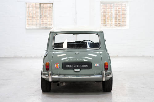 1966 Mk1 Austin Mini Cooper 998 Tweed Grey Restored SOLD (picture 3 of 6)