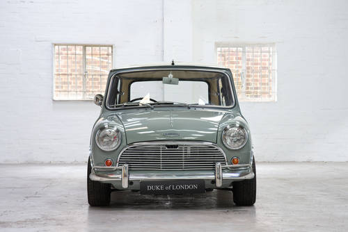 1966 Mk1 Austin Mini Cooper 998 Tweed Grey Restored SOLD (picture 4 of 6)