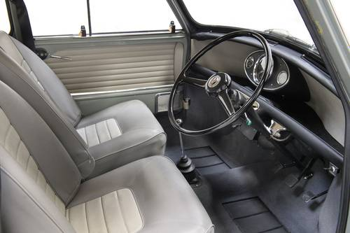 1966 Mk1 Austin Mini Cooper 998 Tweed Grey Restored SOLD (picture 5 of 6)