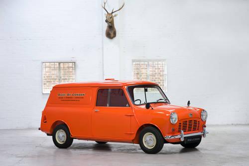 1960 Mini Austin Mk1 850 Van Fully Restored For Sale (picture 1 of 6)