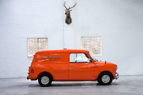 1960 Mini Austin Mk1 850 Van Fully Restored For Sale (picture 4 of 6)