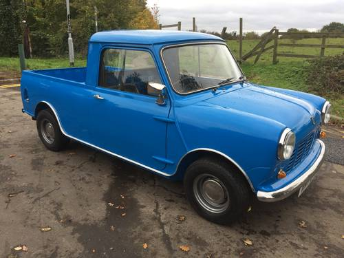 Austin/Morris Mini Pickup 1981 X reg in Pageant blue  For Sale (picture 1 of 6)