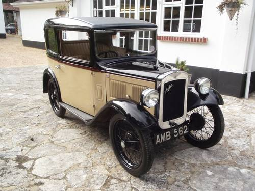 1933 AUSTIN SEVEN RP BOX LWB SALOON SOLD (picture 1 of 6)