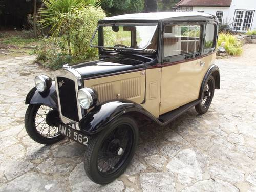 1933 AUSTIN SEVEN RP BOX LWB SALOON SOLD (picture 2 of 6)
