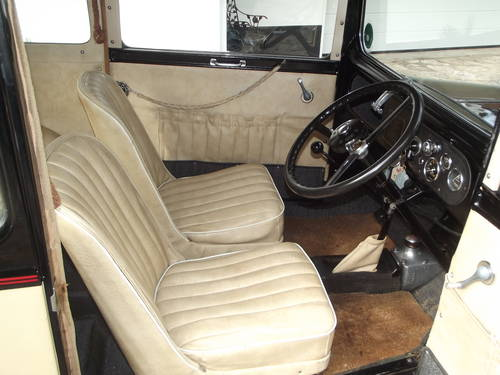1933 AUSTIN SEVEN RP BOX LWB SALOON SOLD (picture 4 of 6)