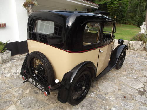 1933 AUSTIN SEVEN RP BOX LWB SALOON SOLD (picture 6 of 6)