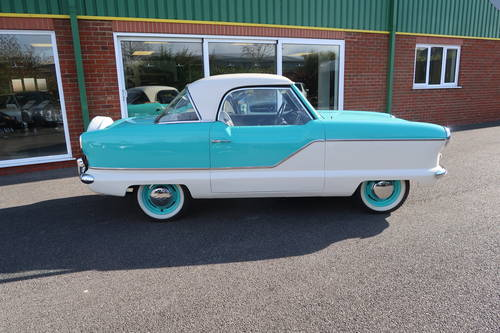 1959 Austin 'Nash' Metropolitan 1500 Series 3 RHD SOLD (picture 2 of 6)