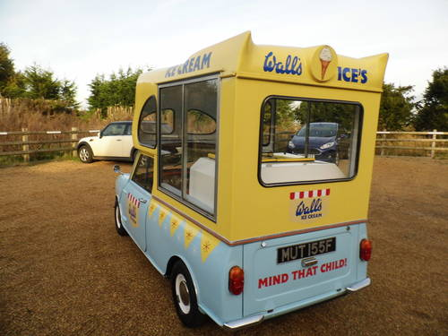 Austin Mini Ice cream van 1000 1967 tax exempt Very Clean For Sale (picture 3 of 6)