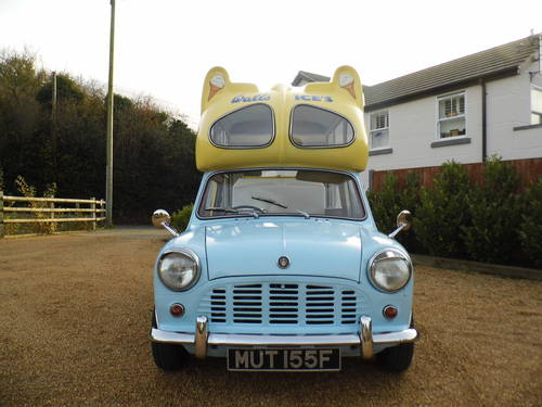 Austin Mini Ice cream van 1000 1967 tax exempt Very Clean For Sale (picture 4 of 6)
