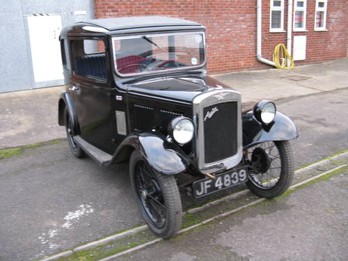 1933 Austin 7 RP Box Saloon SOLD (picture 1 of 6)