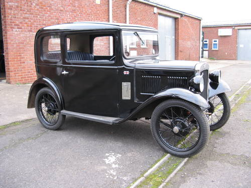 1933 Austin 7 RP Box Saloon SOLD (picture 6 of 6)