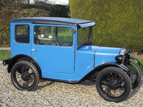 1929 Austin Seven RK Saloon - DEPOSIT TAKEN SOLD (picture 1 of 6)