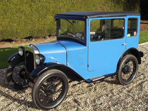 1929 Austin Seven RK Saloon - DEPOSIT TAKEN SOLD (picture 2 of 6)