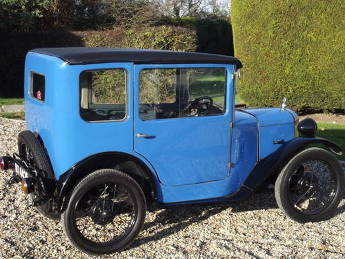 1929 Austin Seven RK Saloon - DEPOSIT TAKEN SOLD (picture 6 of 6)