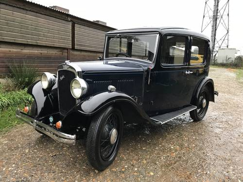 1934 Austin 10/4 Saloon for sale in Hampshire... SOLD (picture 1 of 6)