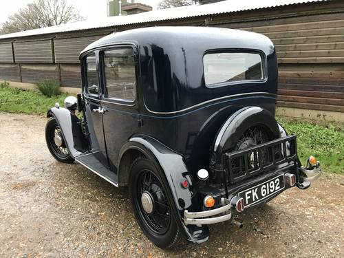 1934 Austin 10/4 Saloon for sale in Hampshire... SOLD (picture 2 of 6)