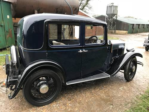 1934 Austin 10/4 Saloon for sale in Hampshire... SOLD (picture 6 of 6)