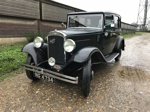1933 Austin 12/6 Harley for sale in Hampshire SOLD (picture 1 of 6)