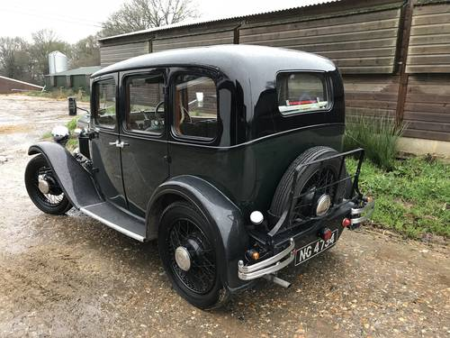 1933 Austin 12/6 Harley for sale in Hampshire SOLD (picture 2 of 6)
