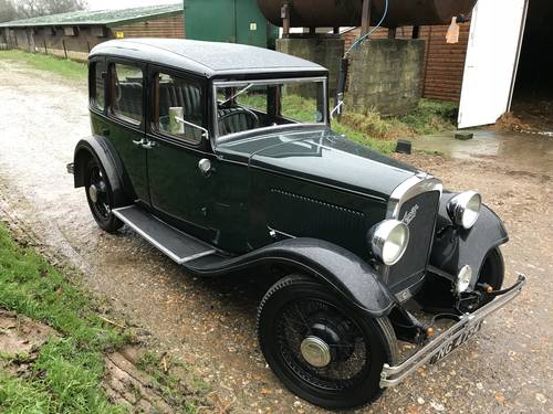 1933 Austin 12/6 Harley for sale in Hampshire SOLD (picture 6 of 6)