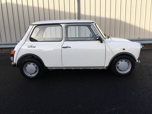 1987 E AUSTIN MINI 1.0 CITY E 39 BHP, CLASSIC, 1 OWNER, 18K  SOLD (picture 2 of 6)